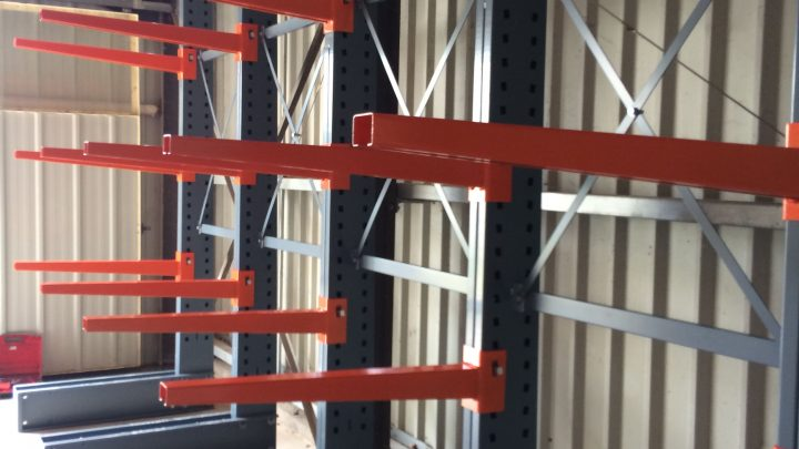 Cantilever intérieur charges lourdes Stockage vertical